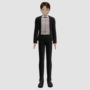 3Dモデル Levi - 進撃の巨人