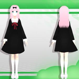 3Dモデル Chika Fujiwara - かぐや様は告らせたい ~天才たちの恋愛頭脳戦~