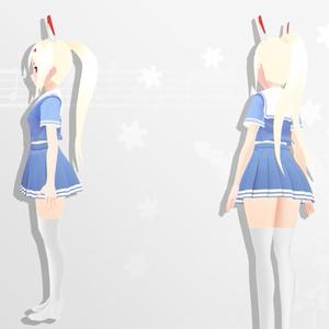 3Dモデル Ayanami - アズールレーン