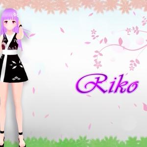 """オリジナル3Dモデル """"Riko"""""""