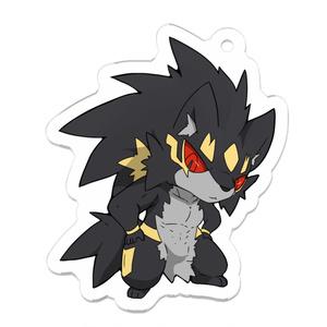 アクリルキーホルダー:オルファ Type:Wolf