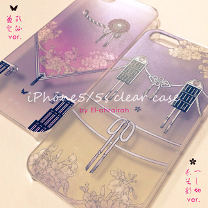 iPhone5/5s clear case