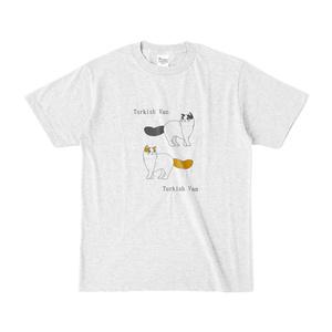 ターキッシュバン Tシャツ(ベーシックカラーシリーズ・アッシュ)