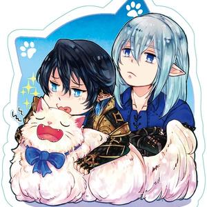 エスアイと老猫さんのアクキー