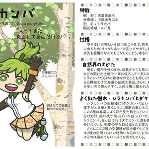 樹木キャラクターブック