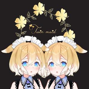 バイノーラル / 双子メイドの両耳ふーふーご奉仕🎀🎀