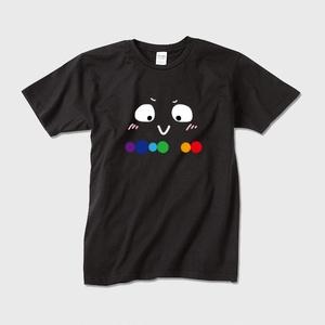 """電気にゃん """"うへへへ、みてみてだにゃん!"""" Tシャツ"""