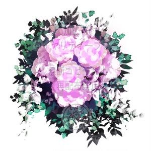 ウェディング教会-花束 GIF PSD