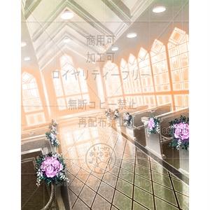 ウェディング教会-夕方