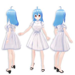 【お試し0円】VRoidベース3Dモデル「Kanade」