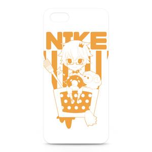 にけ iPhone5&5Sケース オレンジ
