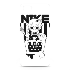 にけ iPhone5&5Sケース ブラック