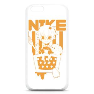 にけ iPhone6ケース オレンジ