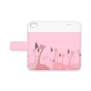 フラミンゴのiPhoneケース(iPhone7-8用)