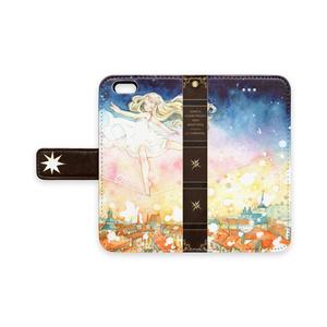 手帳型iPhoneケース【夢遊の足取り】