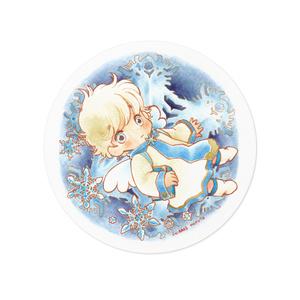 雪の結晶とちぃ(ちぃぶっく )