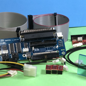 X68000 横置型(PROシリーズ)用 FDD-DRIVE SWAPPER+