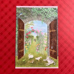 ポストカード:秘密の花園