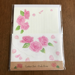 Letter Set Pink Rose