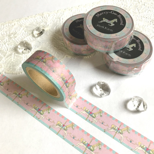 Merry-Go-Roundのマスキングテープ