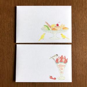 Letter Set 鳥の純喫茶
