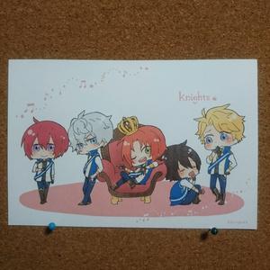 ポストカード「knights」
