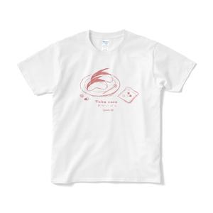 うさぎりんごの看病Tシャツ