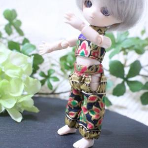 オビツ11用 踊り子風ドレス