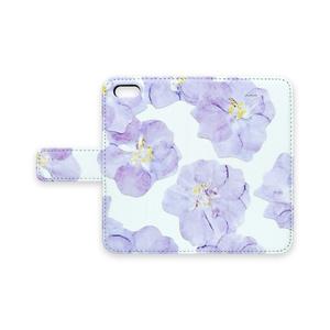 くしゅくしゅお花のiPhoneケース