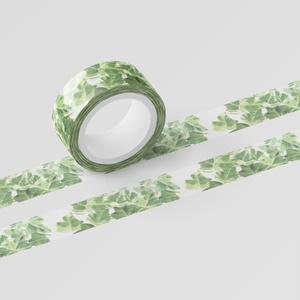 葉っぱのマスキングテープ
