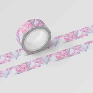 水彩桜のマスキングテープ