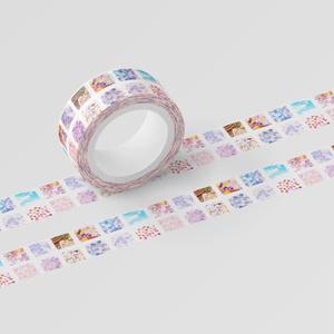 小窓の宝物マスキングテープ