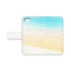 浜辺でデートなiPhoneケース