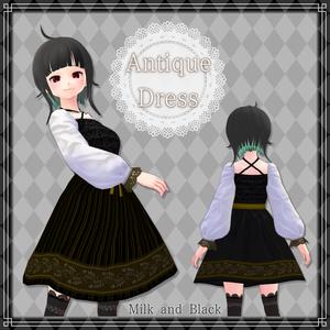 【VRoid】アンティークドレス