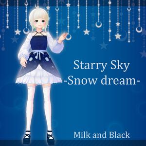 【無料版あり】Starryskyドレス【VRoid】