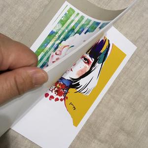 眼福ユウコ・オリジナルイラスト集01「sound,words,and colors」