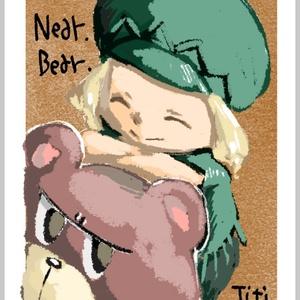 ポストカード(ティティ&ジュース)