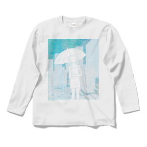 世界の雨 ロングTシャツ