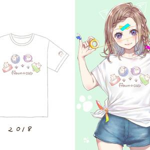 みけんねこTシャツ 2018
