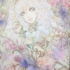 原画   いばら姫  イラスト