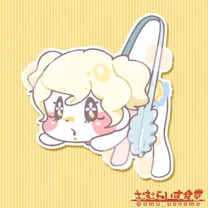 【ステッカー】クリームパン