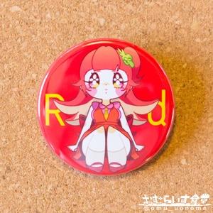 【缶バッジ】タコさんウインナー(赤)