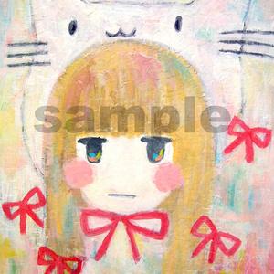 吾輩は猫だもん。キャンバス原画