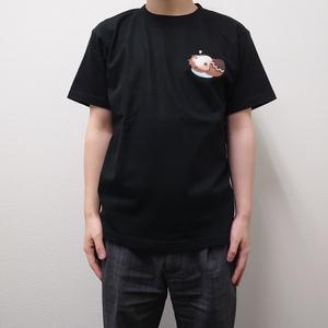 ラクームワンポイントTシャツ(ブラック)