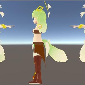【早期割引中】VRChat想定3Dモデル『フォレストカーバンクル』