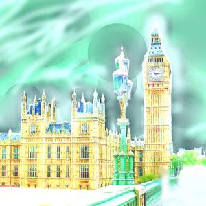 送料込 【写真1枚】 イギリス ロンドン塔