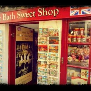 送料込 【写真1枚】 イギリスのお菓子屋