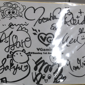 VGaming 1st Anniversary 記念グッズ【生産分限定販売】