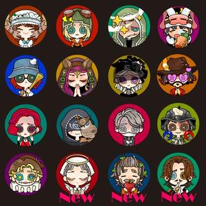 【11/15更新】第五人格×サバイバー缶バッチ