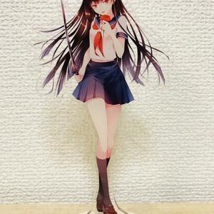 アクリルフィギュア01・黒髪紅刃さん